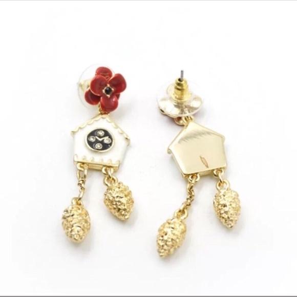 ece5c26cb kate spade Jewelry | New New York Small Gold House Earrings | Poshmark
